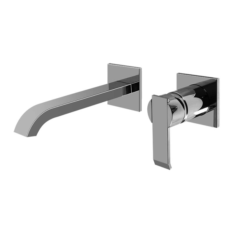 Graff Qubic Wall-Mounted Lavatory Faucet w/Single Handle -Trim Only
