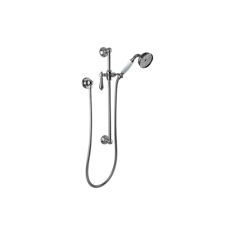 Graff Traditional Handshower w/Wall-Mounted Slide Bar