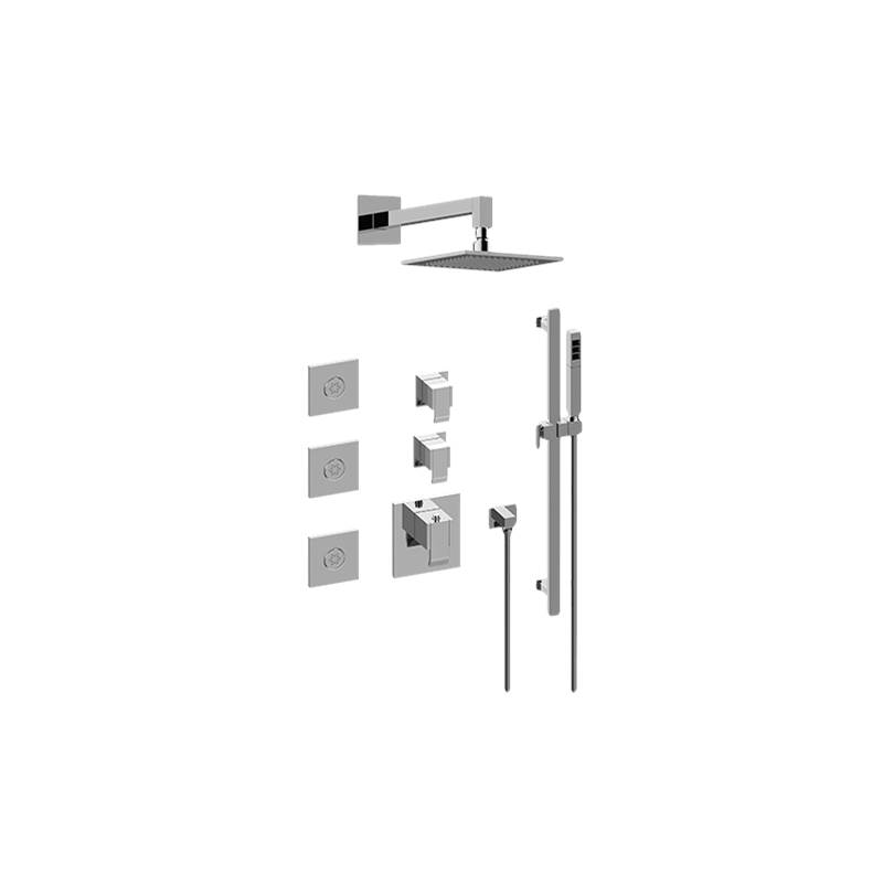 Graff M-Series Full Thermostatic Shower System (Trim Only)