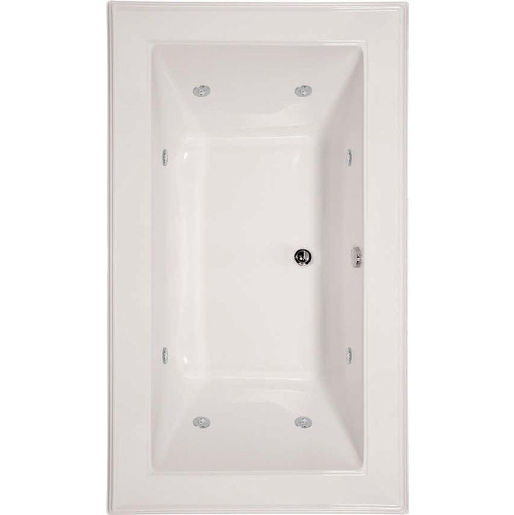 Hydro Systems ANGEL 7242 CENTER DRAIN - AC W/WHIRLPOOL SYSTEM-WHITE