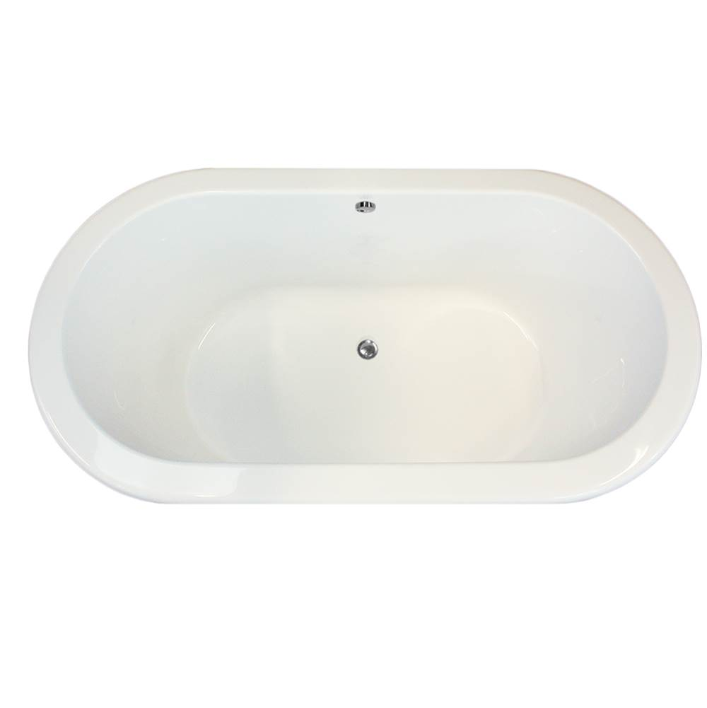 Hydro Systems PALMER 7036 AC TUB ONLY- WHITE