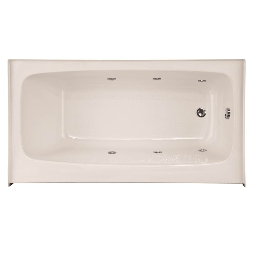 Hydro Systems REGAN 5436 AC W/WHIRLPOOL SYSTEM-WHITE-LEFT HAND