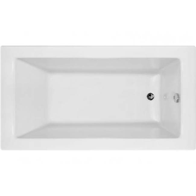 Hydro Systems SYDNEY 6030 AC TUB ONLY-WHITE-RIGHT HAND