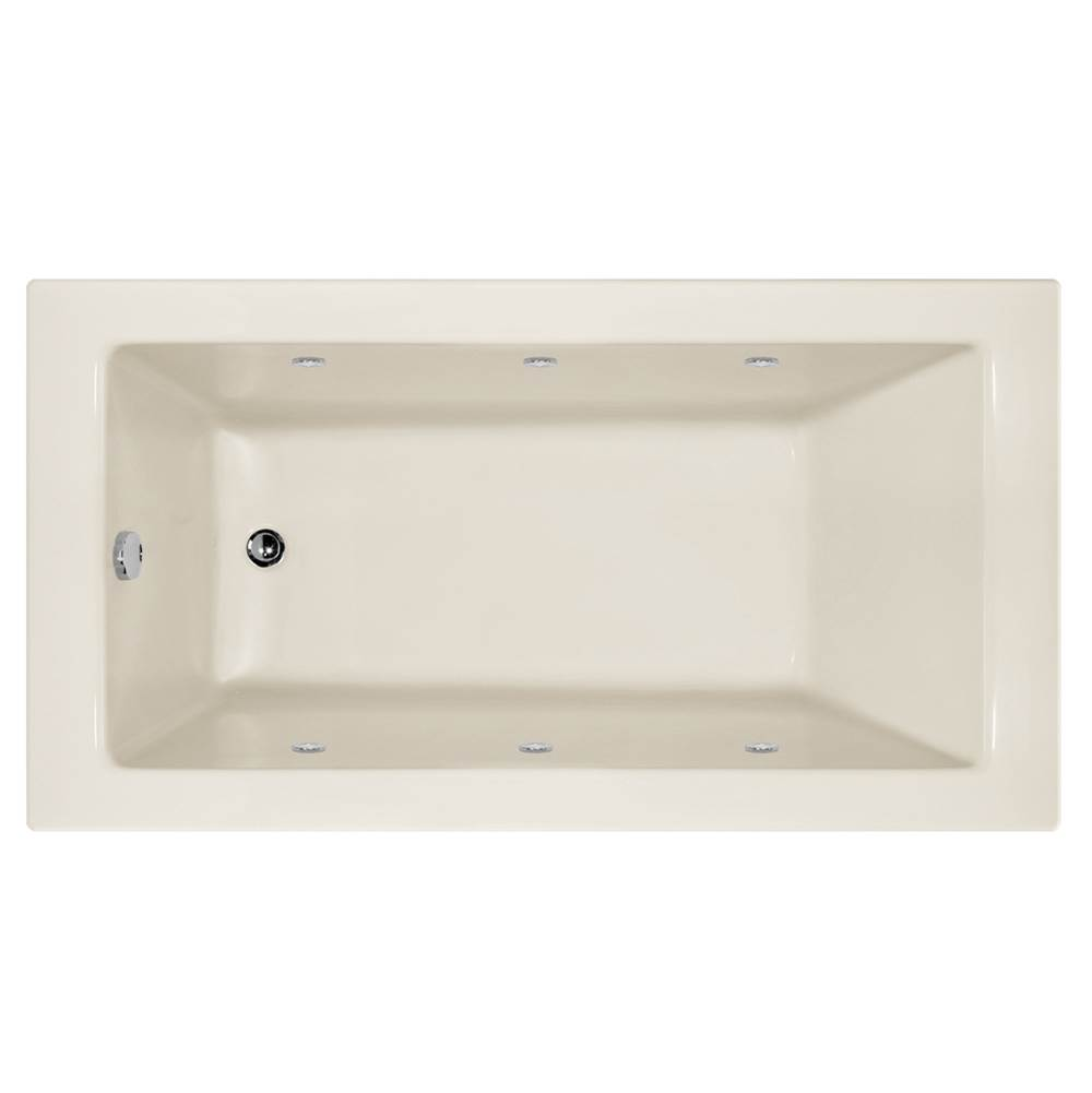 Hydro Systems SYDNEY 6032 AC W/WHIRLPOOL SYSTEM - SHALLOW DEPTH -BISCUIT-RIGHT HAND