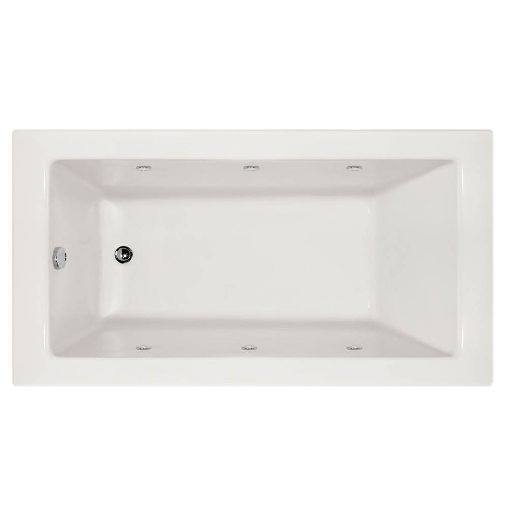 Hydro Systems SYDNEY 7232 AC W/COMBO SYSTEM-WHITE-LEFT HAND