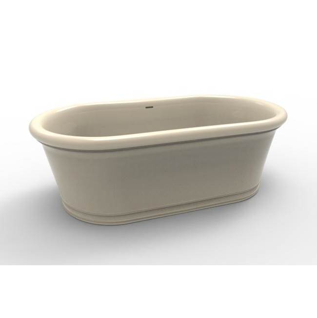 Hydro Systems TRIBECA 6835 METRO THERMAL AIR TUB-WHITE