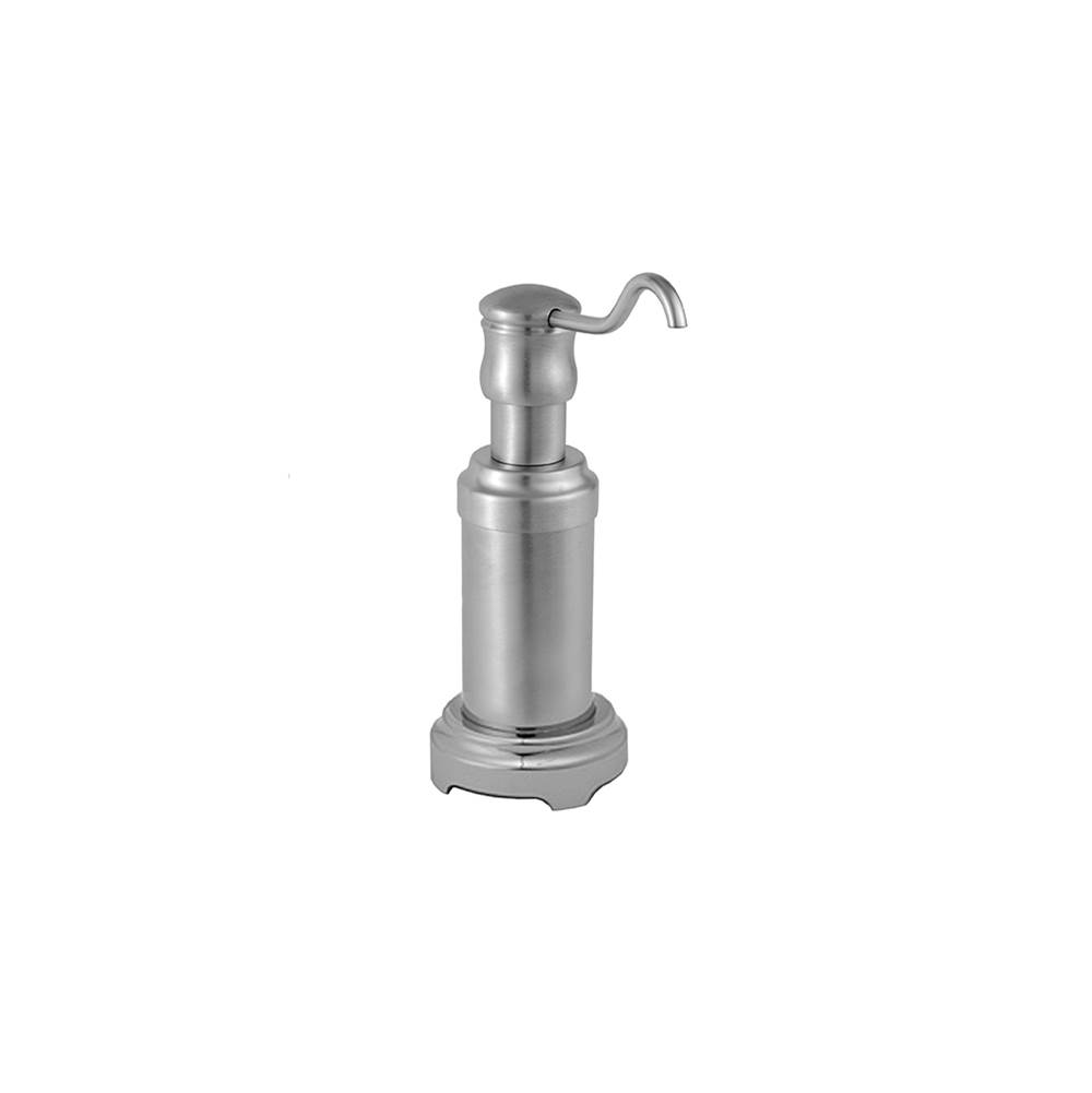 Jaclo Traditional Freestanding Soap/Lotion Dispenser with Round Base