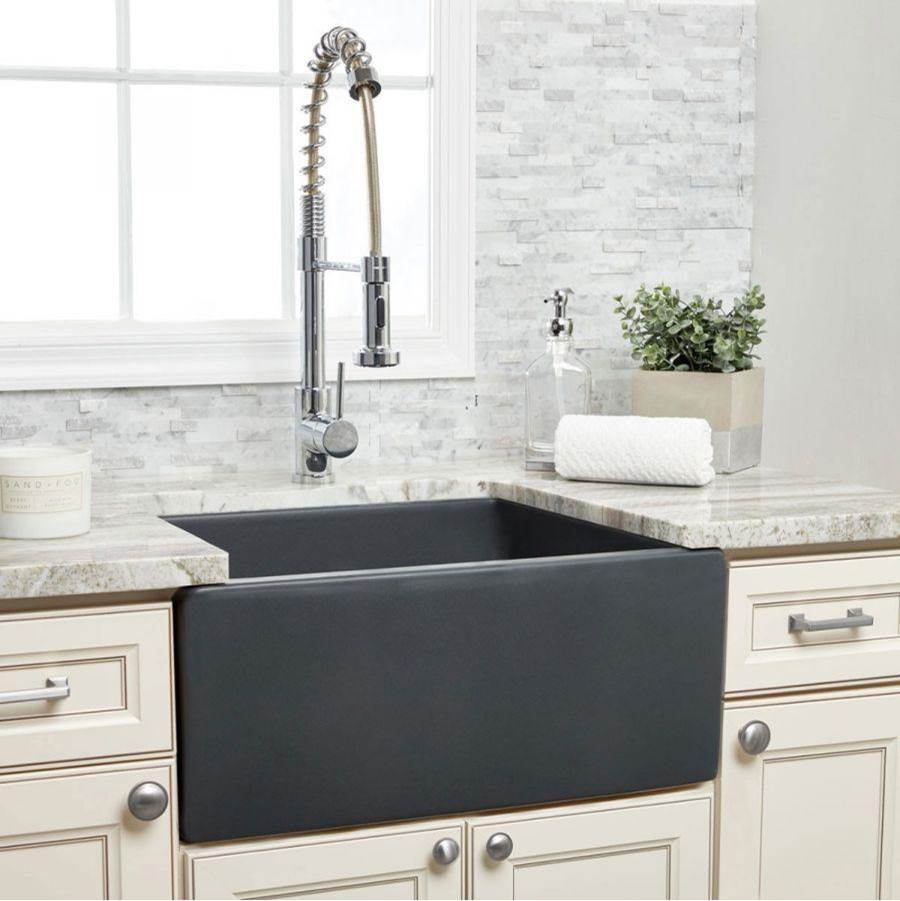 Maidstone 24'' X 18'' Reversible Fireclay Farmhouse Sink