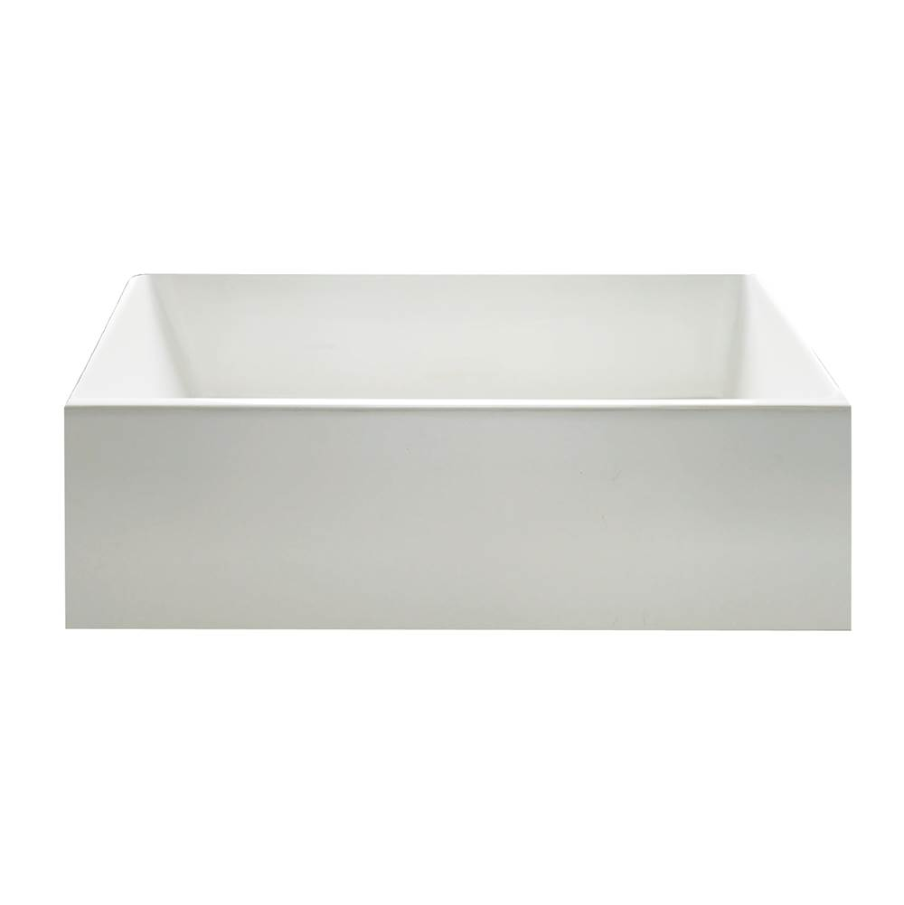 Maidstone 24 x 18 Fluted Fireclay Apron Farmhouse Sink