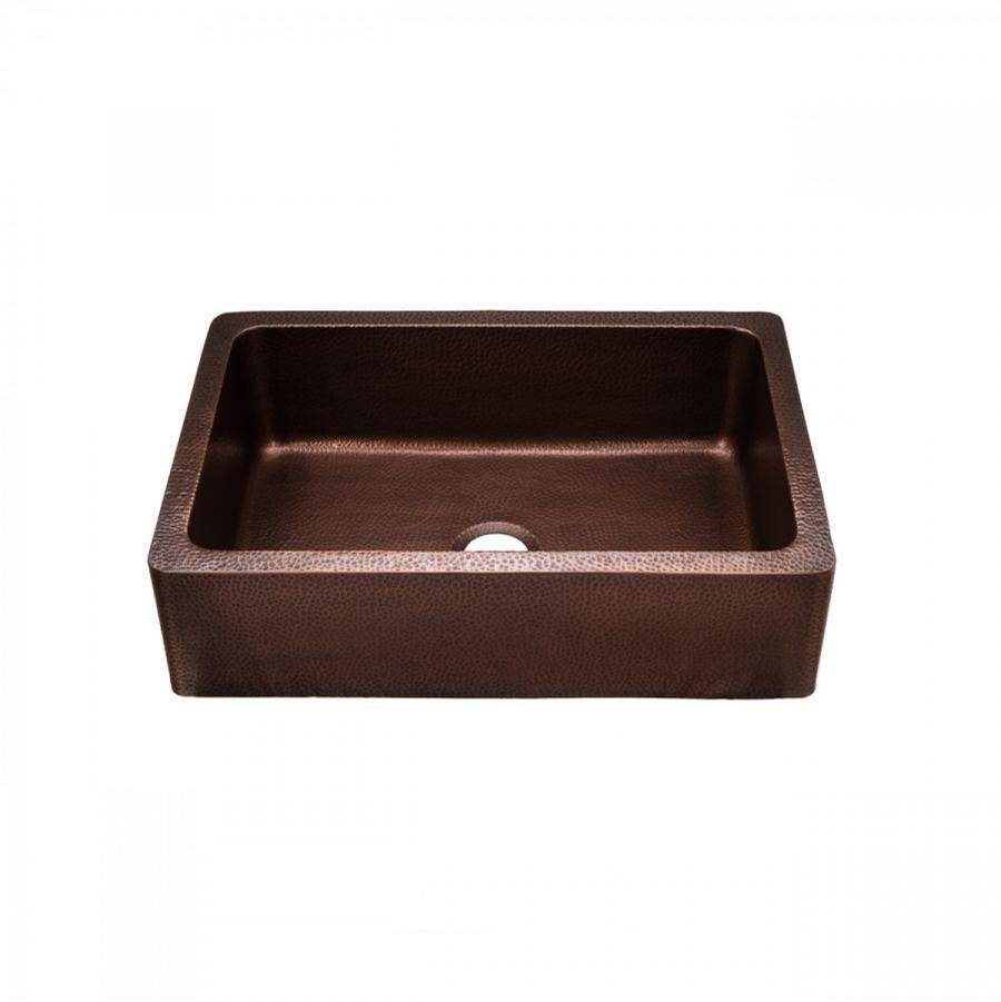 Maidstone Copper Single Bowl Farmhouse Sink