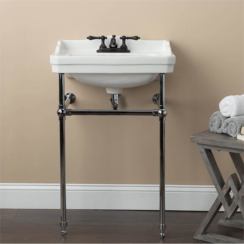 Maidstone 22 Inch Cast Iron High Back Farm Sink