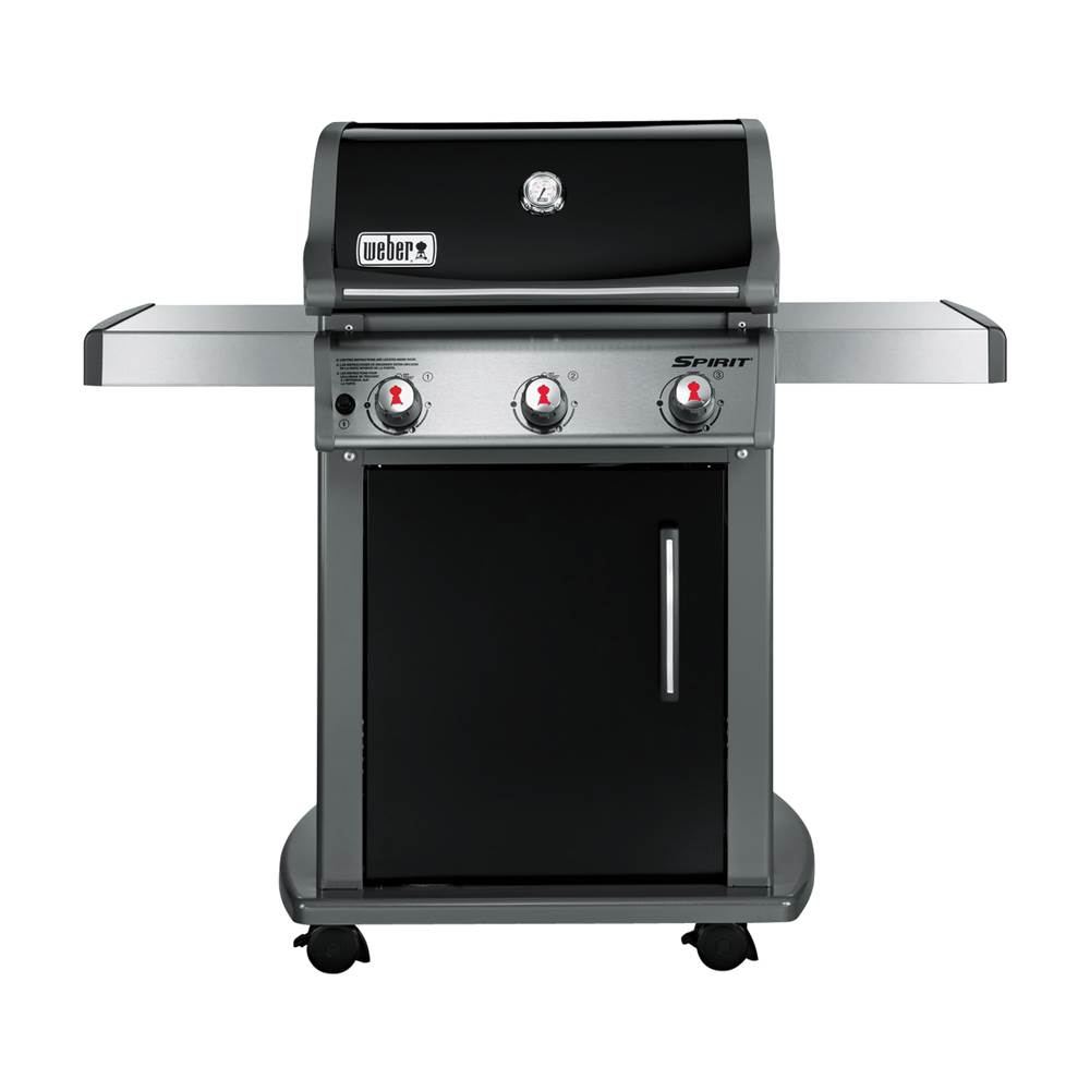 Weber Weber SPIRIT E-310 Series 46510001 Gas Grill, Liquid Propane, Stainless Steel