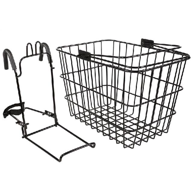 KENT Kent 65228 Large Wire Basket, Black