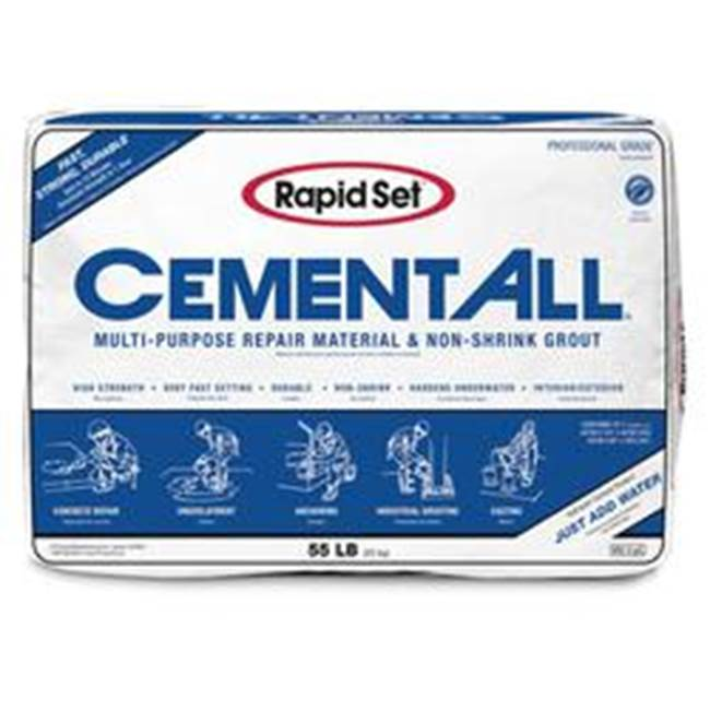 Miami Home Centers Rapid Set CEMENT ALL 120010055 Non-Shrink Grout, Tan, 55 lb Bag