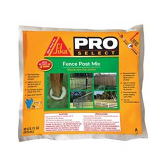 SIKA SIKA 483503 Fence Post Mix, Brown/Light Green