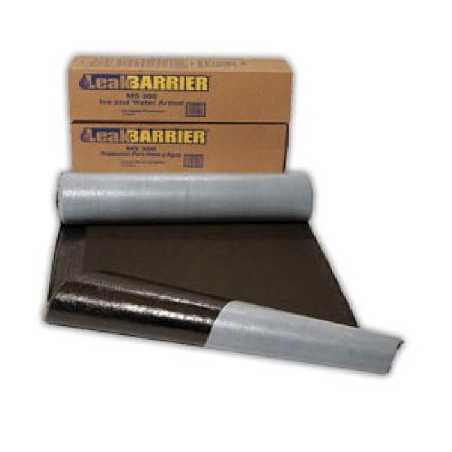 Miami Home Centers Tarco LeakBarrier MS300 2SQ Roofing Underlayment, 65 ft L, 200 sq-ft Coverage Area