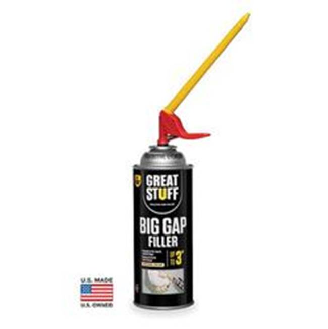Miami Home Centers GREAT STUFF 99112100 Insulating Sealant, Yellow, Foam, 12 oz Can