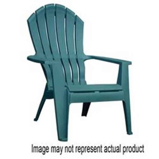 Adams Adams RealComfort 8371-53-3717 Adirondack Chair, 250 lb Weight Capacity, Polypropylene Seat, Polypropylene Frame