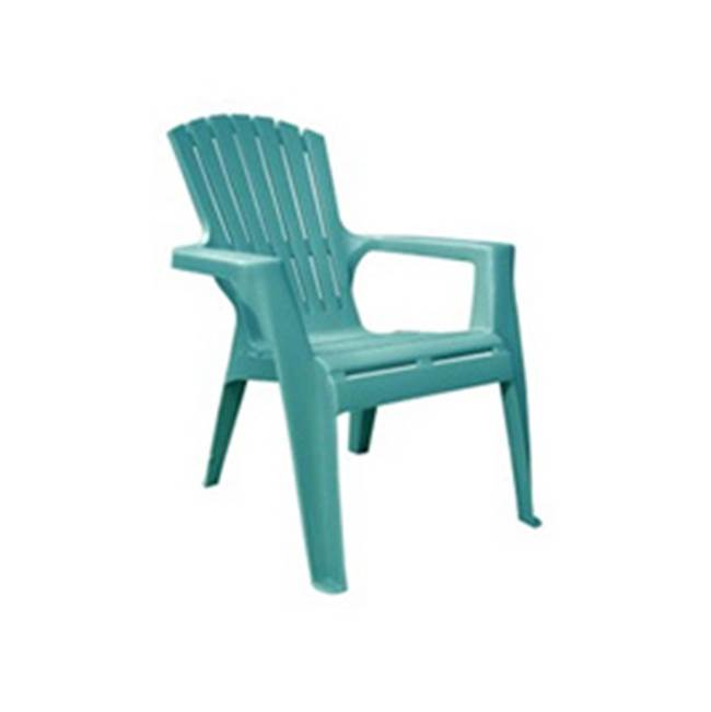 Adams Adams 8460-05-3731 Kids Adirondack Chair, 50 lb Weight Capacity, Polypropylene Seat, Polypropylene Frame