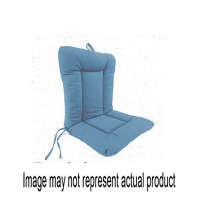 Miami Home Centers JORDAN MANUFACTURING Jor 9040-298H Chair Cushion with Ties, 21 in L, 38 in W, 3-1/2 in H, Capri