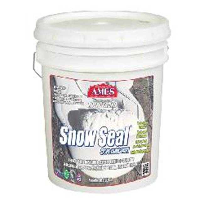 AMES AMES Snow Seal SSC5 Reflective Roof Coating, Liquid, White, 5 gal