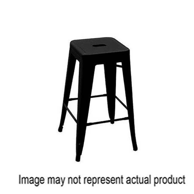 Miami Home Centers Four Seasons Courtyard YD-H675-R Balcony Stool, Steel Frame