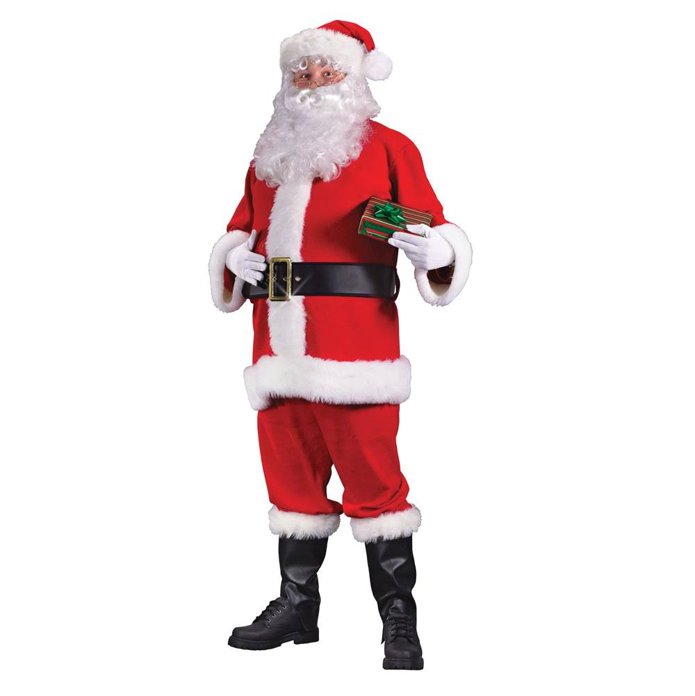 Miami Home Centers Fun World 7500 Santa Suit, 40 to 48, Men''s, Polyester