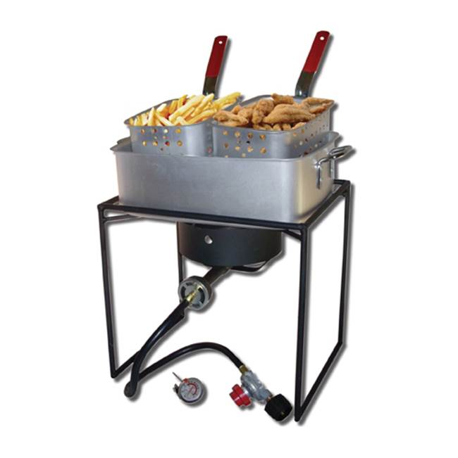Miami Home Centers King Kooker 1618 Rectangular Outdoor Cooker, 15 qt Capacity, Propane