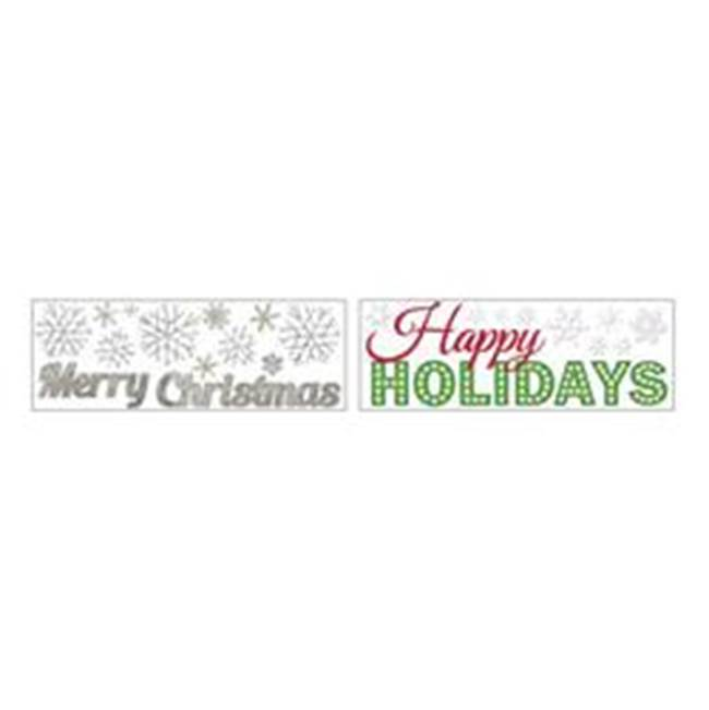 Miami Home Centers IMPACT INNOVATIONS 13168D Christmas Wall Art