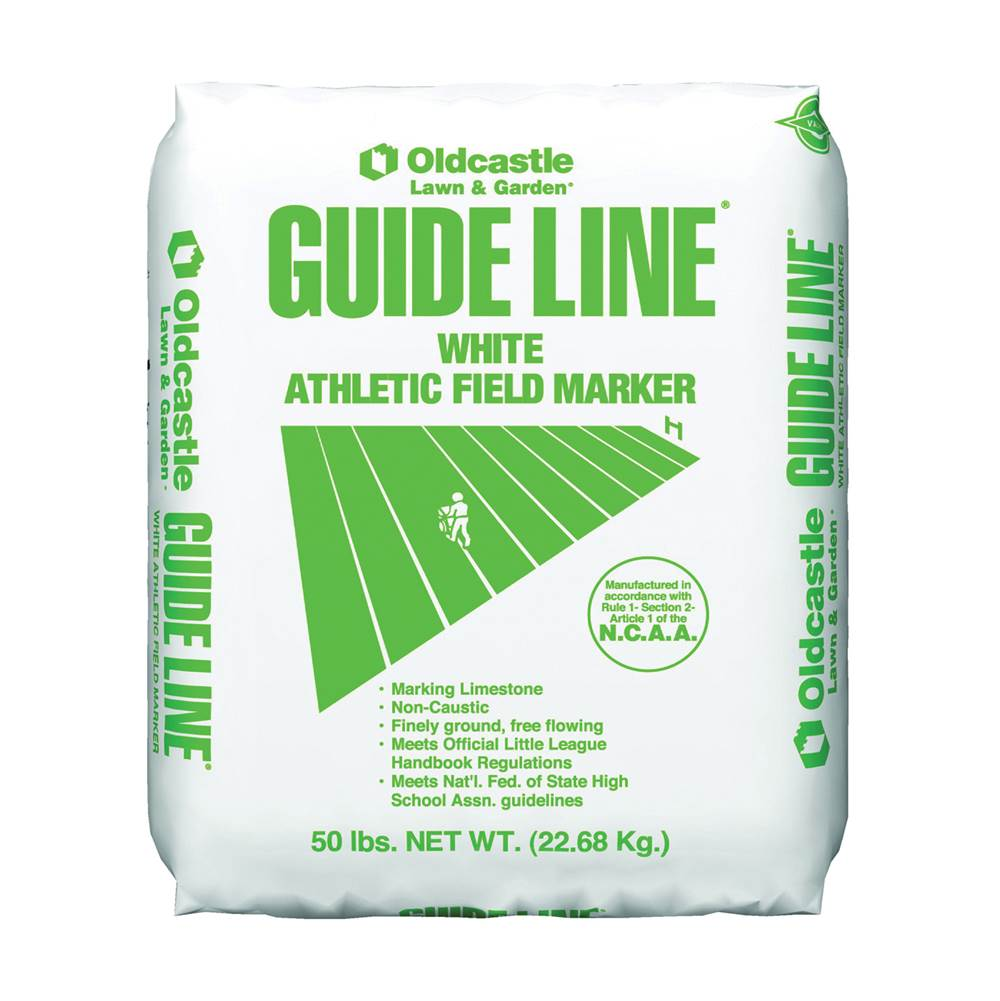 OLDCASTLE OLDCASTLE 54051100 Athletic Field Marker, 50 lb, White