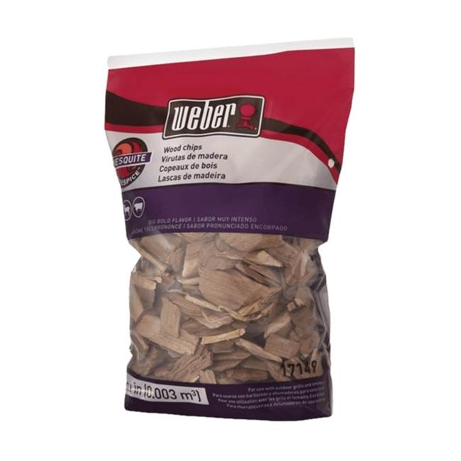 Weber Weber 17149 Mesquite Wood Chips, Big Bold, 192 cu-in