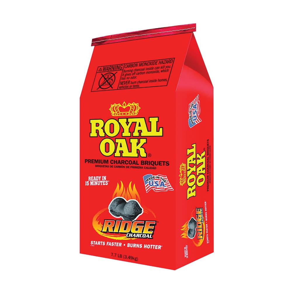 ROYAL OAK ROYAL OAK 192-294-107 Charcoal Briquettes, 7.7 lb Bag