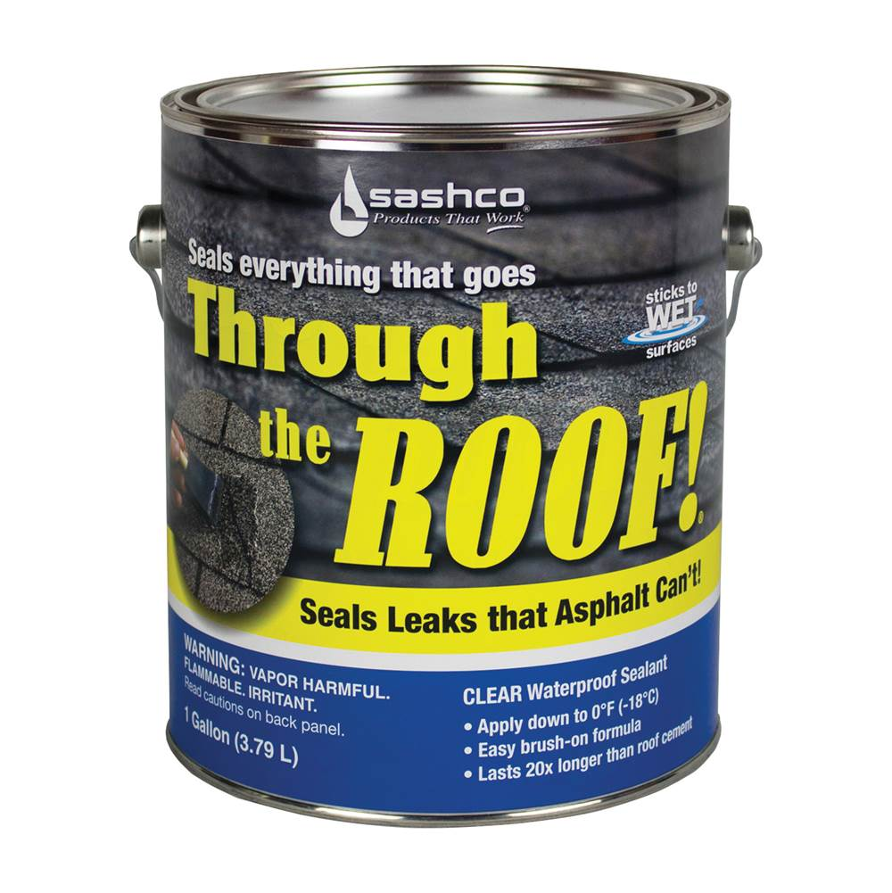 Through The Roof! Through The Roof! 14004 Cement and Patching Sealant, Liquid, 1 gal Container