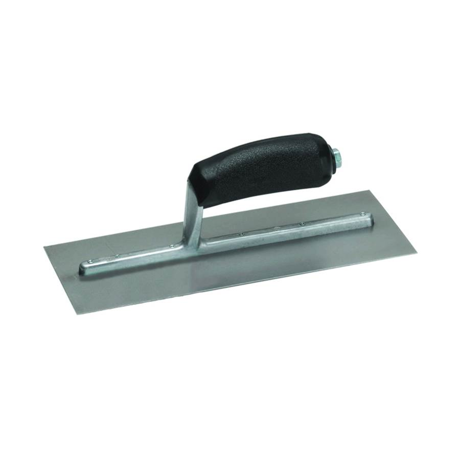 Marshalltown Marshalltown 912 Drywall Trowel, Curved, Concave Blade, Plastic Handle