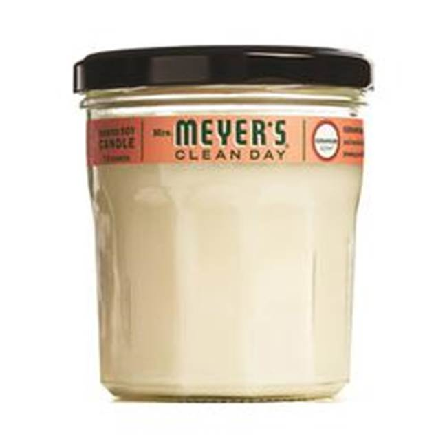 Mrs. Meyer's Mrs. Meyer''s 43116 Large, Scented Soy Candle, White