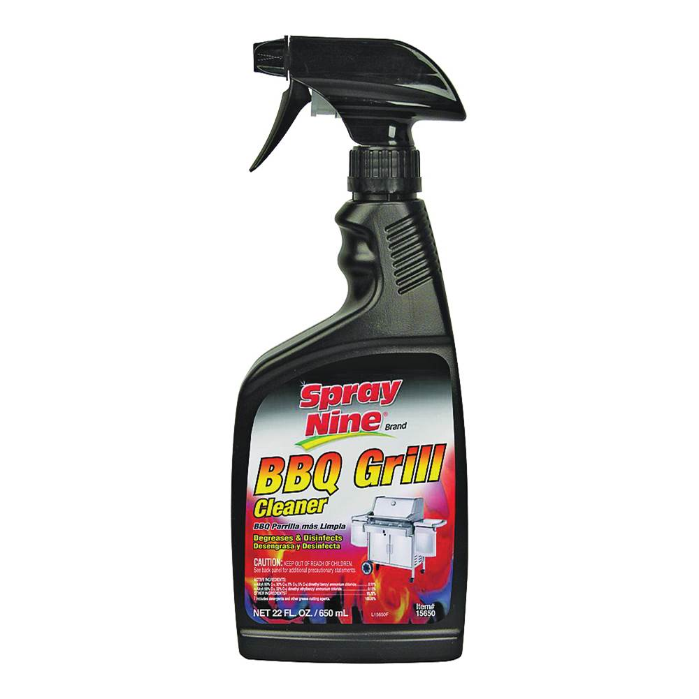 Spray Nine Spray Nine 15650 BBQ Grill Cleaner, 22 oz Bottle