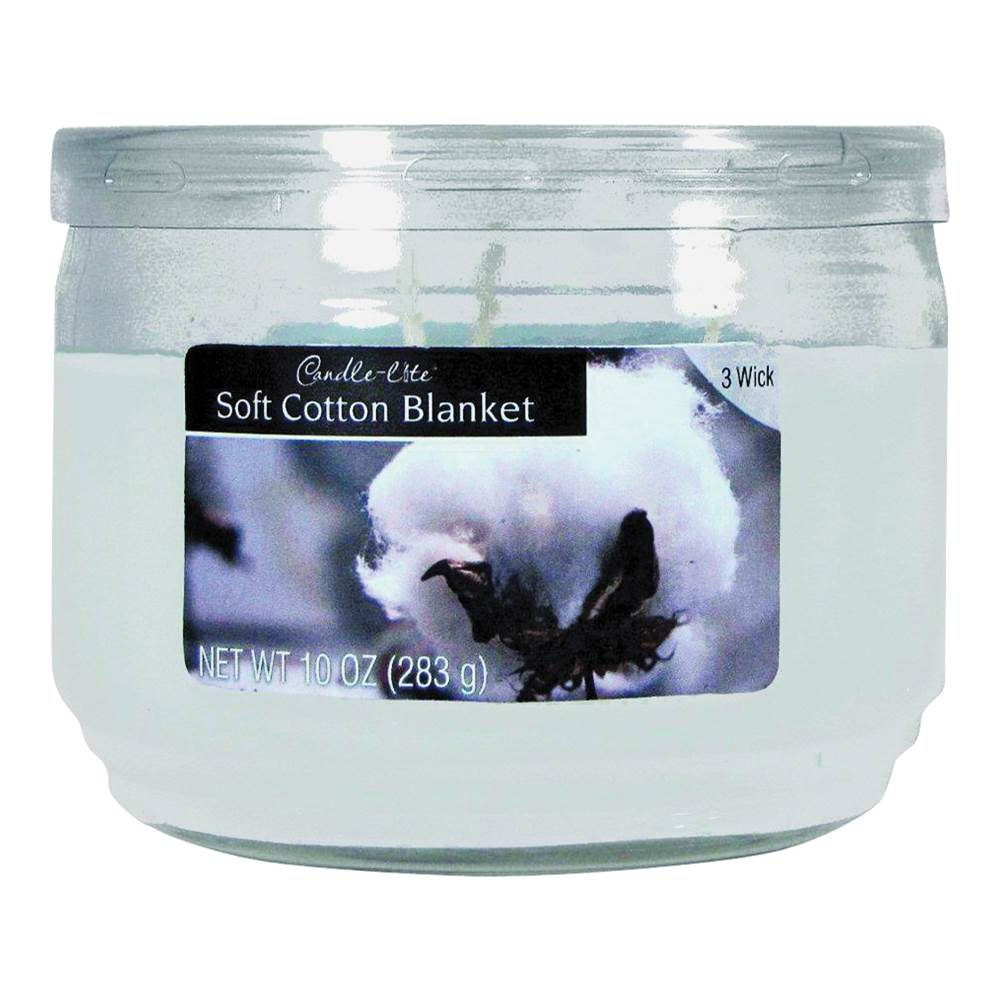 CANDLE-LITE CANDLE-LITE 1879250 Scented Candle, White