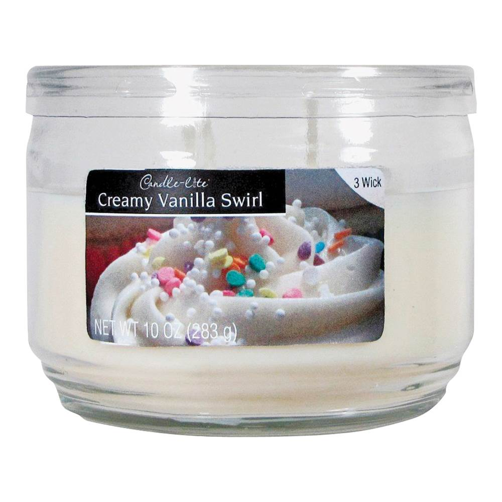 CANDLE-LITE CANDLE-LITE 1879553 Scented Candle, Ivory