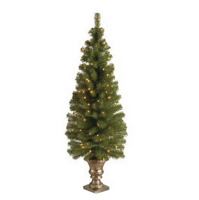 Miami Home Centers National Tree MC7-308-50 Entrance Artificial Christmas Tree, Plug-In, Montclair Spruce, Incandescent Bulb