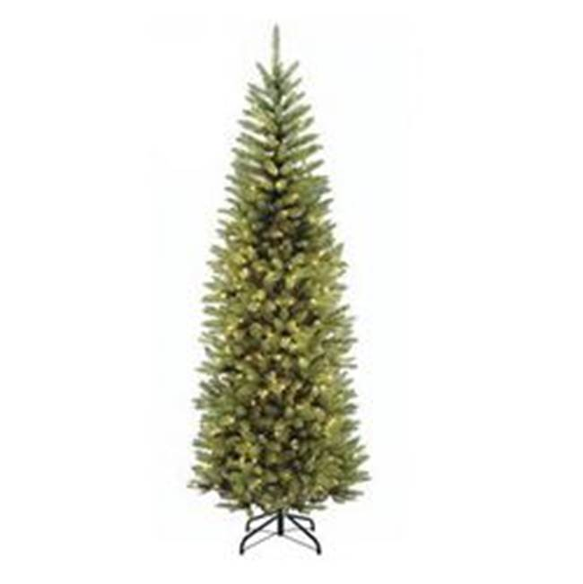 Miami Home Centers National Tree KW7-300-75 Artificial Christmas Tree, Plug-In, Kingswood Fir, Incandescent Bulb, Clear Light