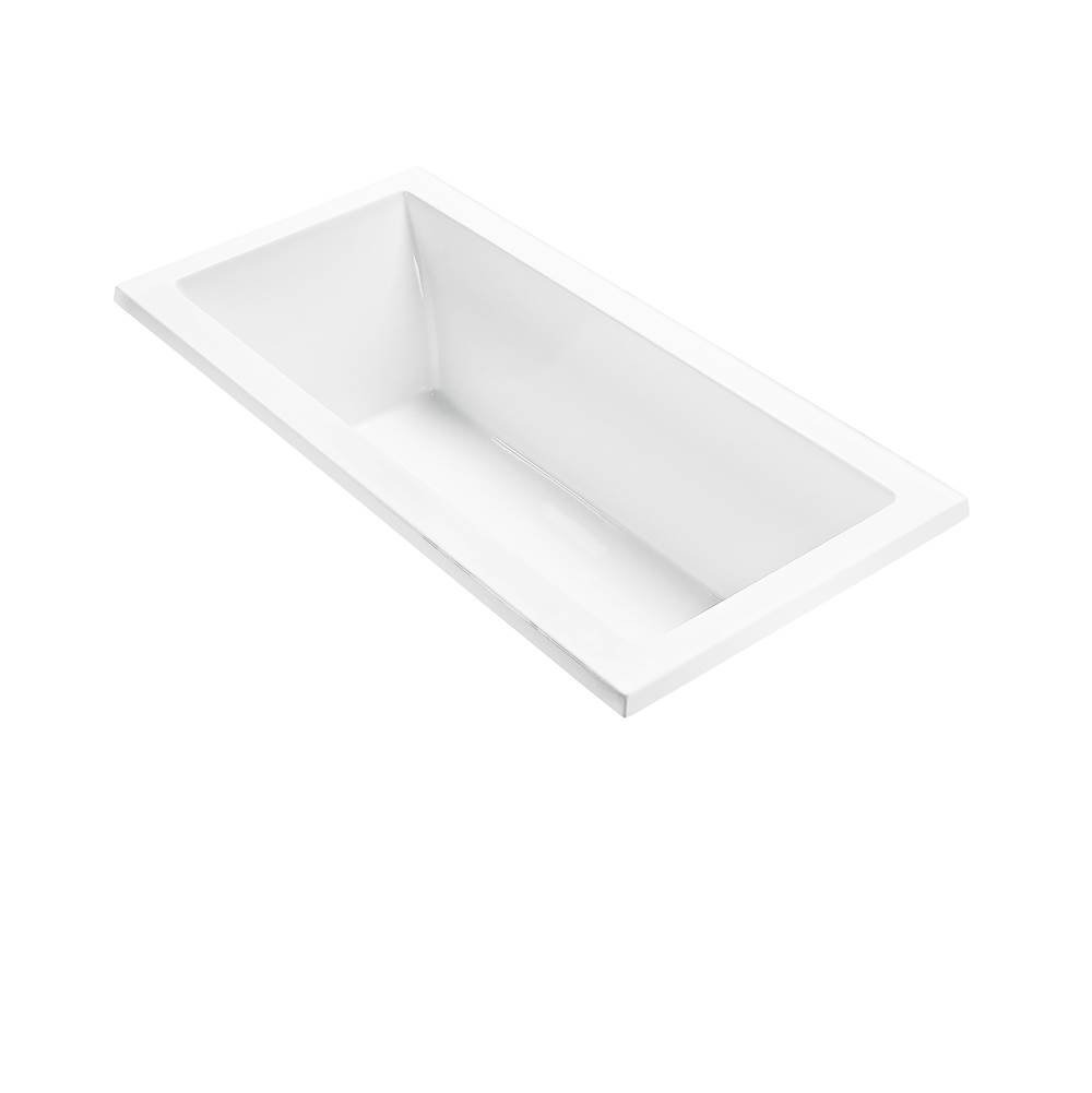 MTI Baths 66X32 WHITE DROP IN WHIRLPOOL ANDREA 4