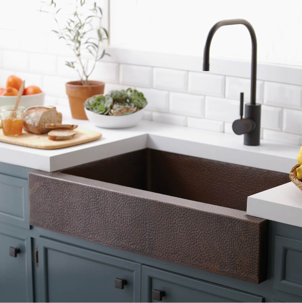 Native Trails Paragon Kitchen SInk in Antique Copper