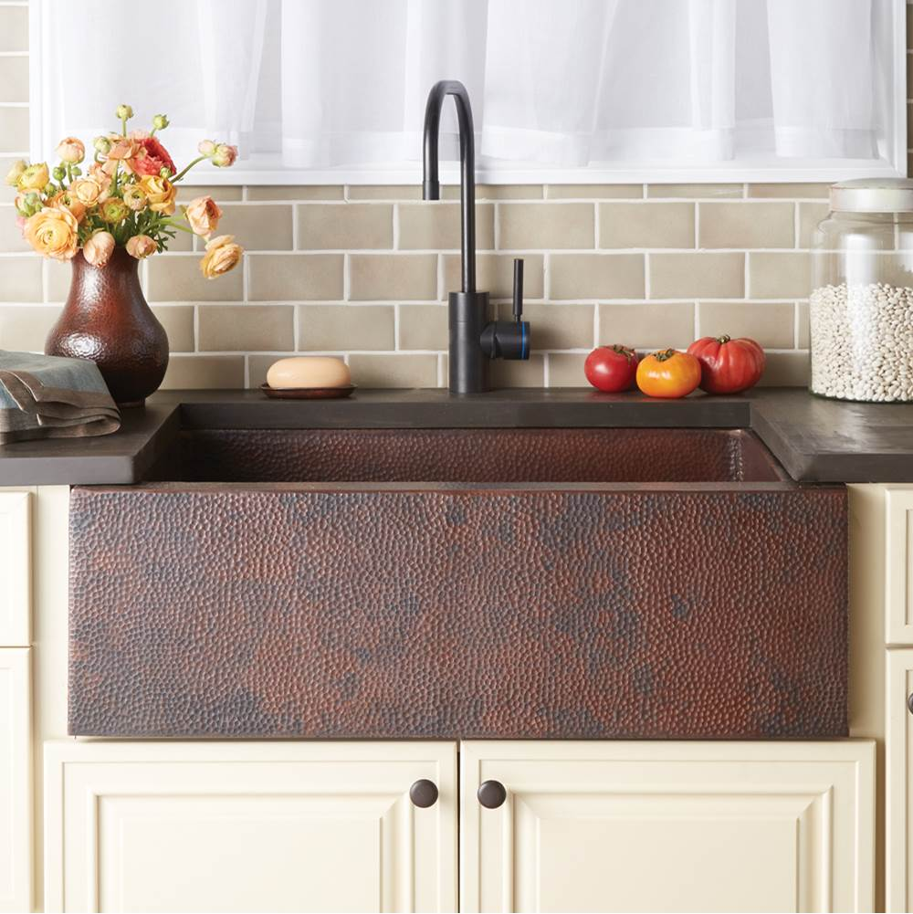 Native Trails Pinnacle Kitchen SInk in Antique Copper