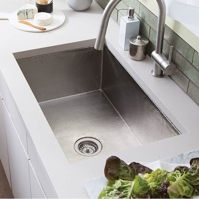 Native Trails Cocina 33 Kitchen SInk in Brushed Nickel