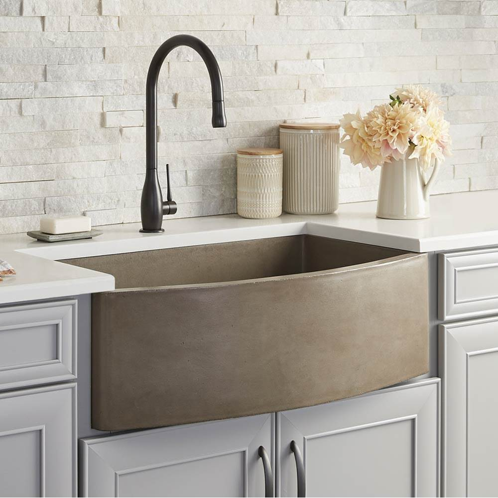 Native Trails Farmhouse Quartet Kitchen Sink in Earth