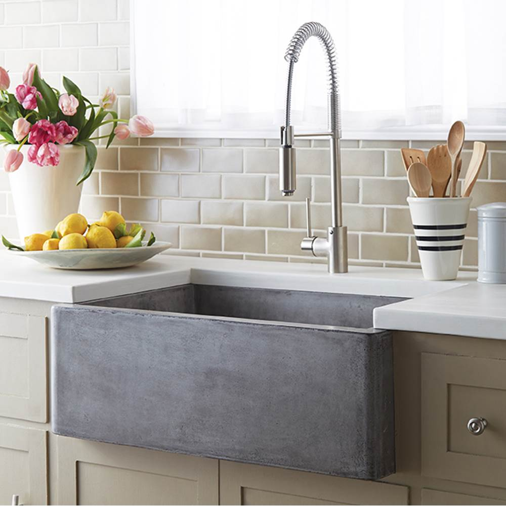 Native Trails Farmhouse 3018 Kitchen Sink in Ash