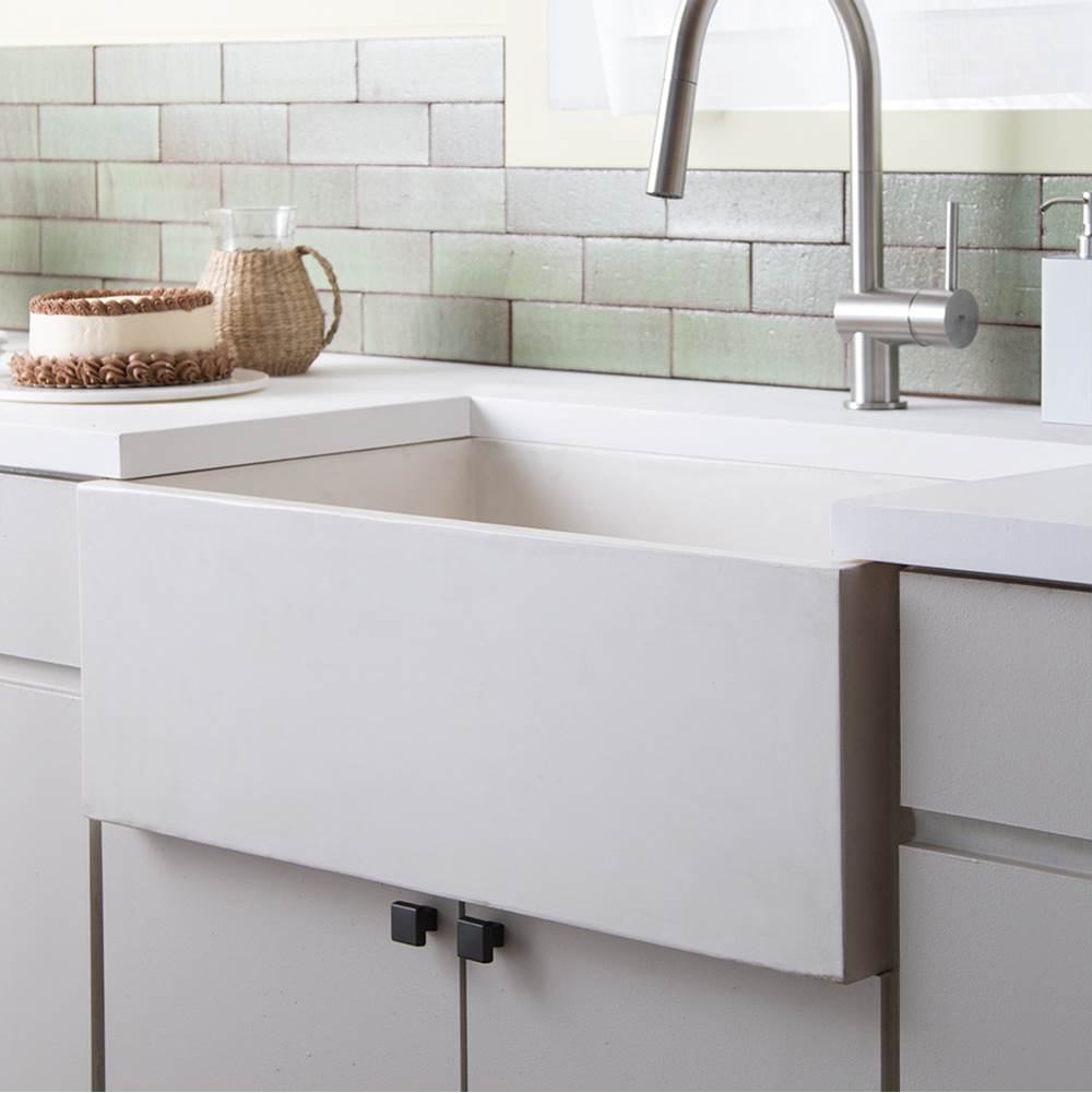 Native Trails Farmhouse 3018 Kitchen Sink in Pearl