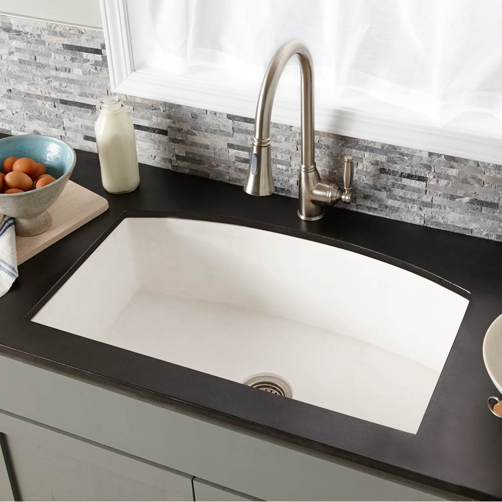 Native Trails Farmhouse Quartet Kitchen Sink in Pearl