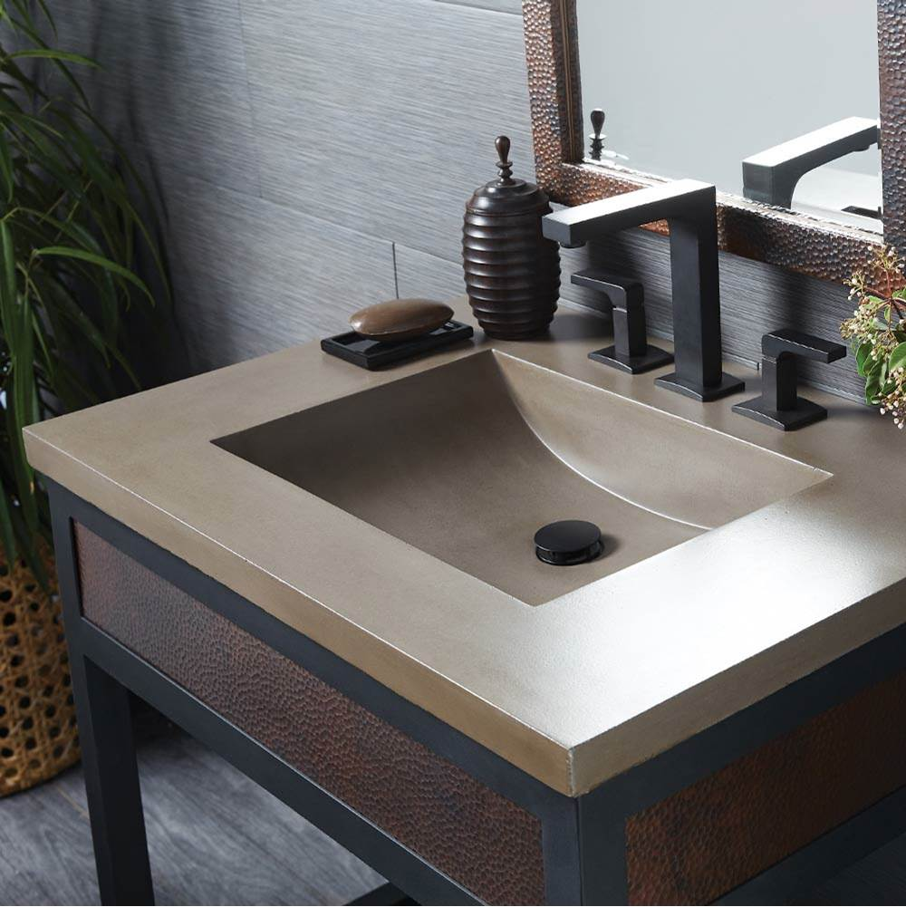Native Trails 30'' Palomar Vanity Top with Integral Bathroom Sink in Earth