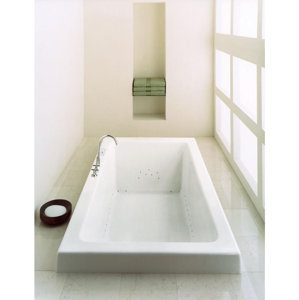 Neptune ZEN bathtub 36x72 with armrests and 2'' top lip, Mass-Air, Biscuit